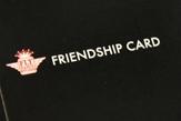 "FLYのお友達ご紹介特典 ""FRIENDSHIP CARD"""